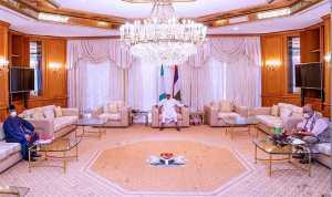 Buhari meets Health minister, and NCDC DG