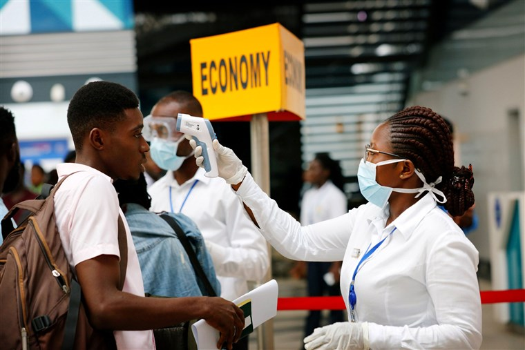 coronvirus hits Gabon, Ghana