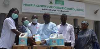 Hypo Donates Products To NCDC To Fight Covid-19