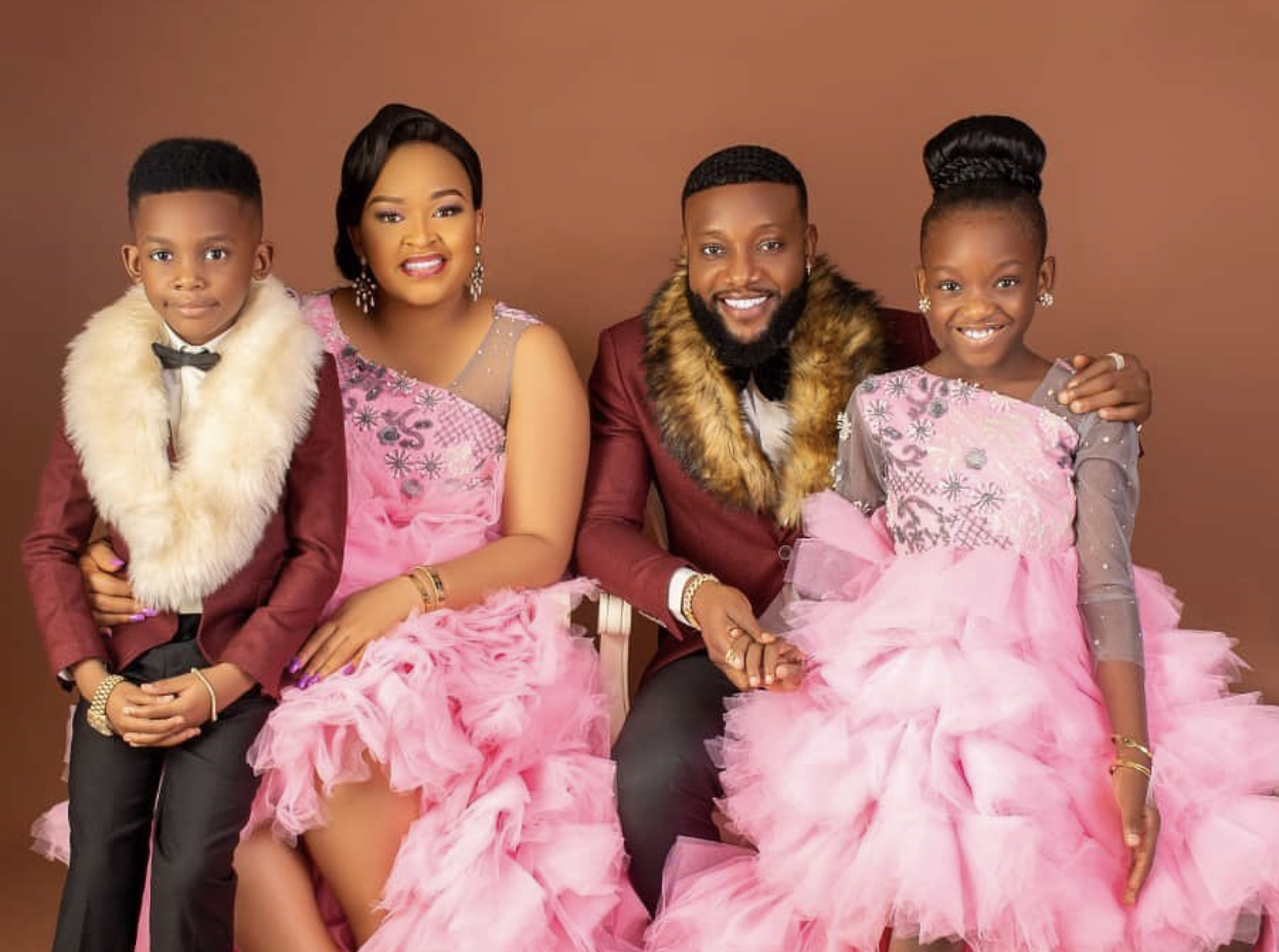 Singer, Kcee and his beautiful family