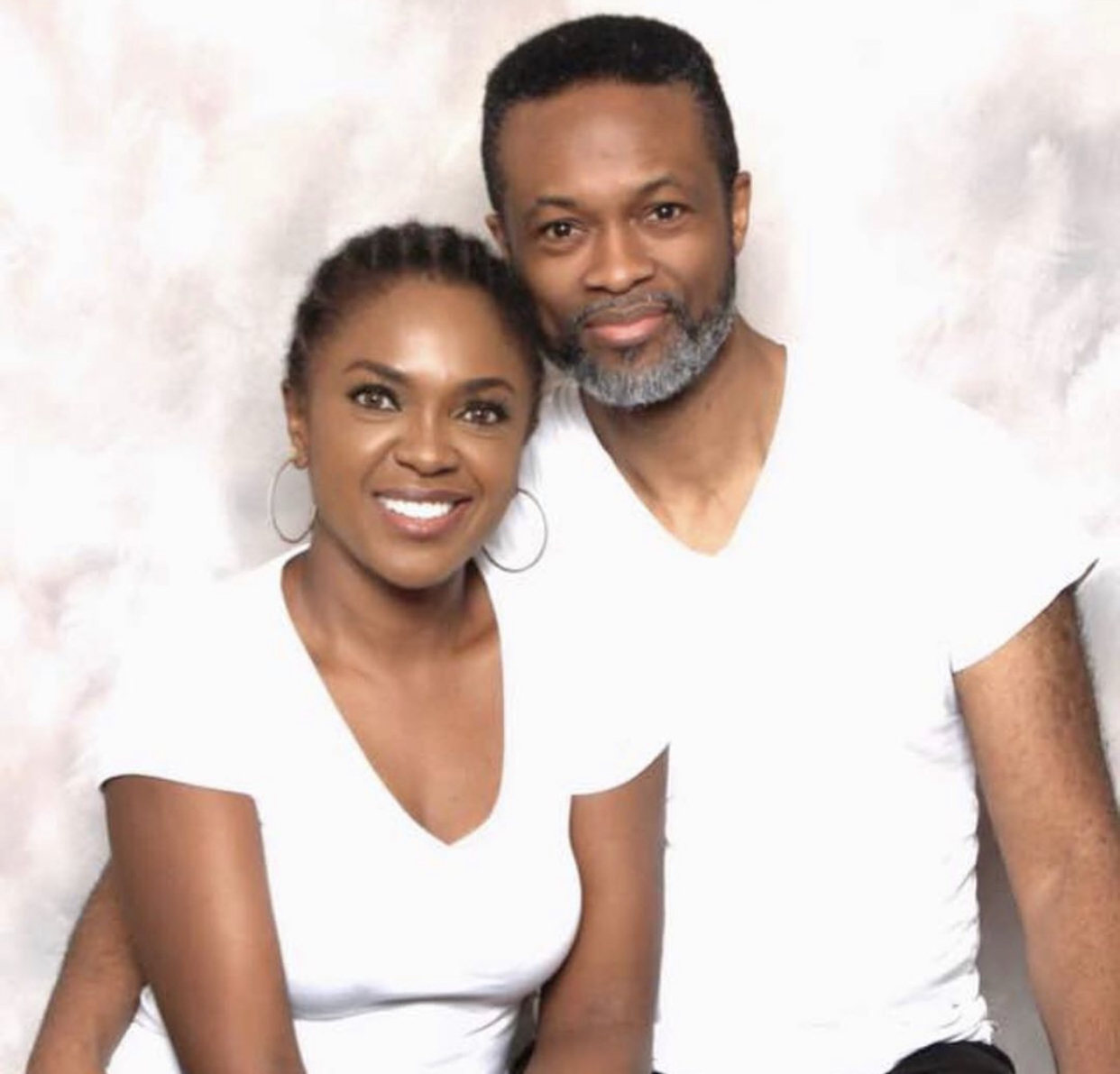 Omoni Oboli and her husband