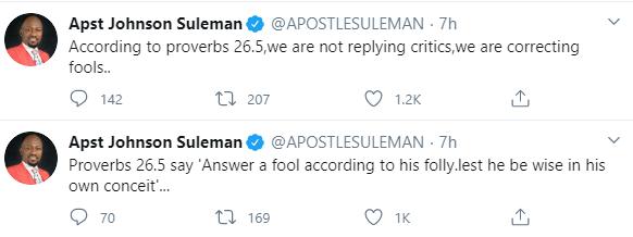 Apostle Suleman