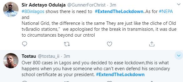 Extend Lockdown