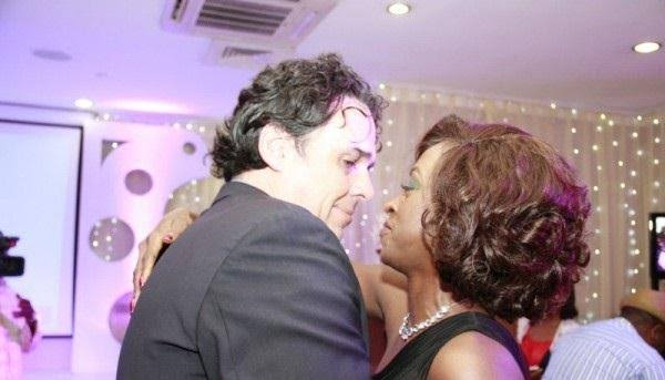 Kate Henshaw and her ex-husband