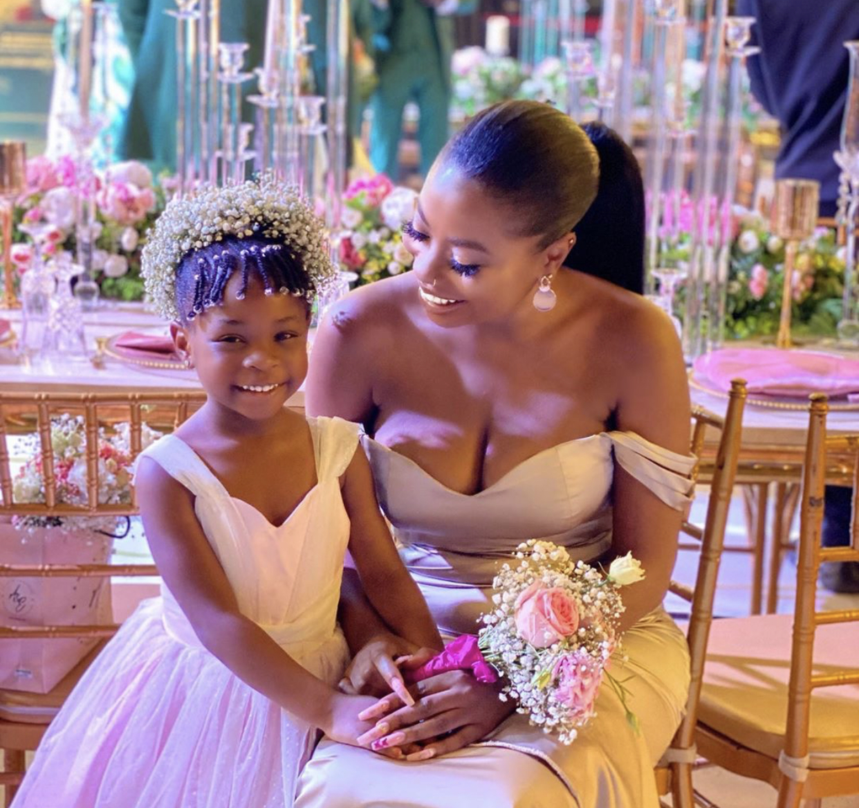Davido's First Babymama, Sophie Momodu Reveals How Smart Imade Is At 4