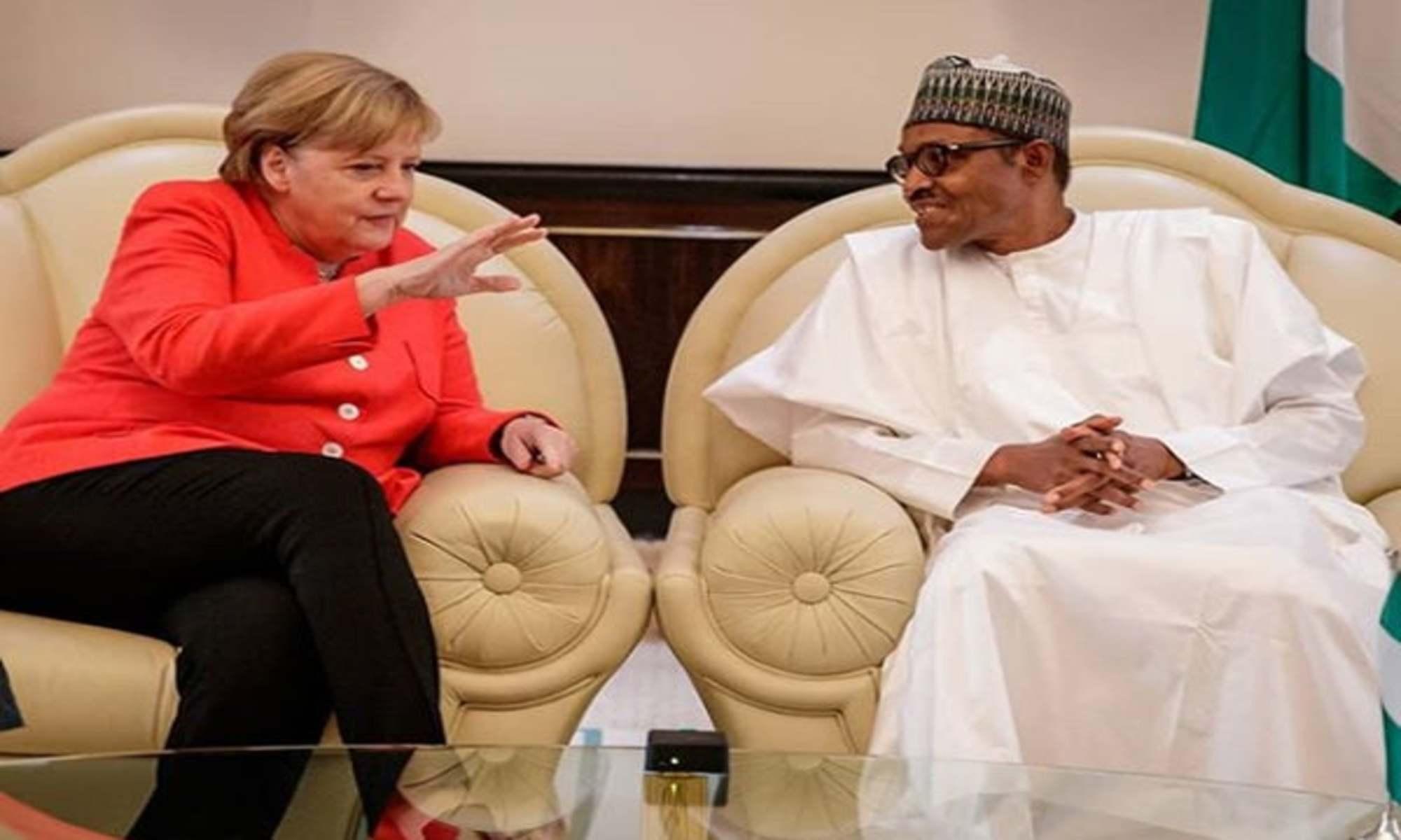 Buhari, Merkel