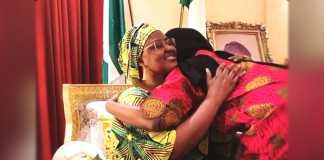 Aisha buhari and daughter