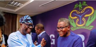 Dangote and Sanwo-Olu