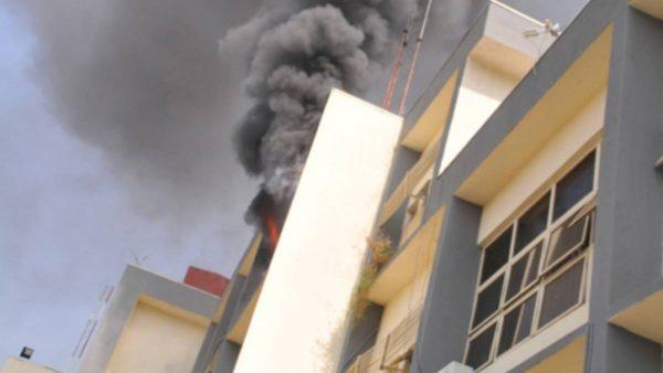 Fire guts INEC Office in Abuja
