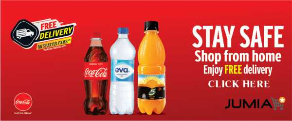 Shopping for Home Essentials As You Self-Isolate? Coca-Cola & Jumia Have Some News for You!