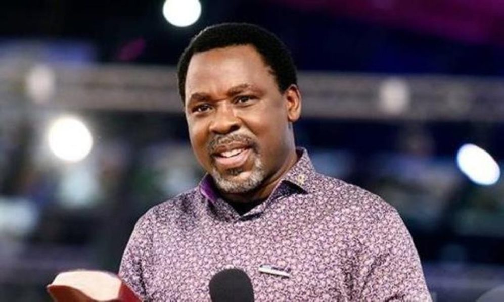 I Never Said Orji Uzor Kalu Would Be Nigeria's President In 2023 – T.B Joshua