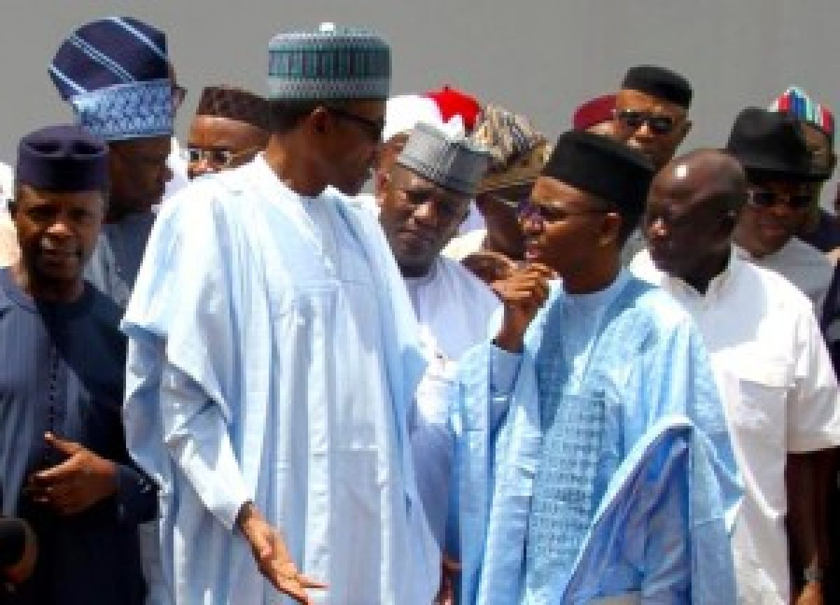 President Buhari and El Rufai