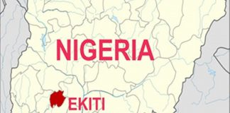 Ekiti on map