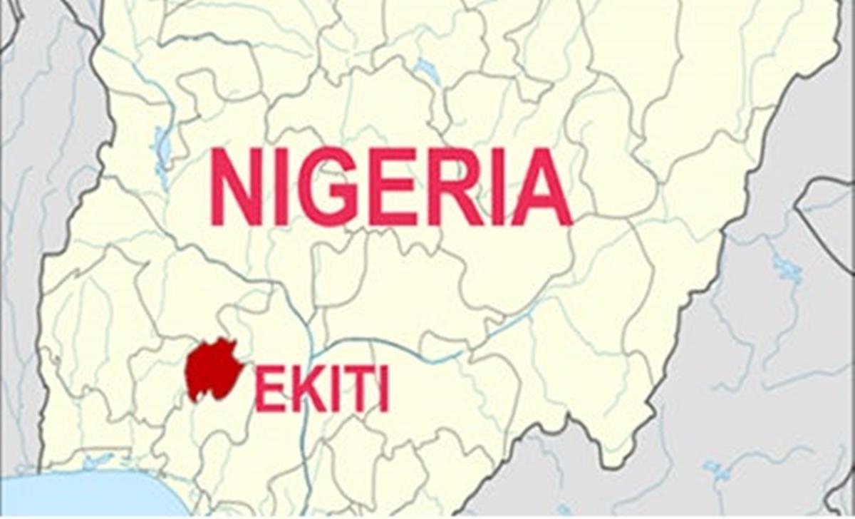 Ekiti on map
