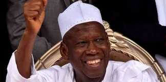 Ganduje: 2023 Presidency Must Be Zoned To The South