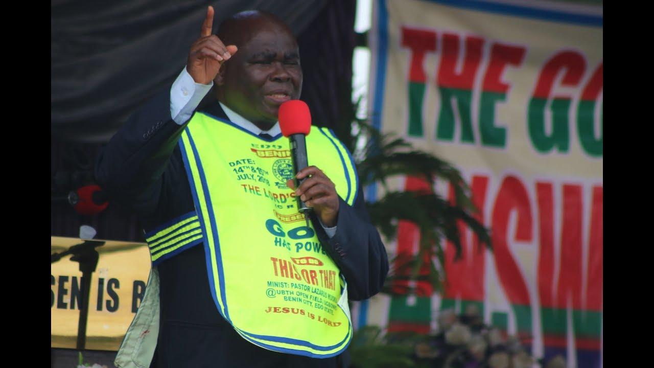 Pastor Lazarus Muoka