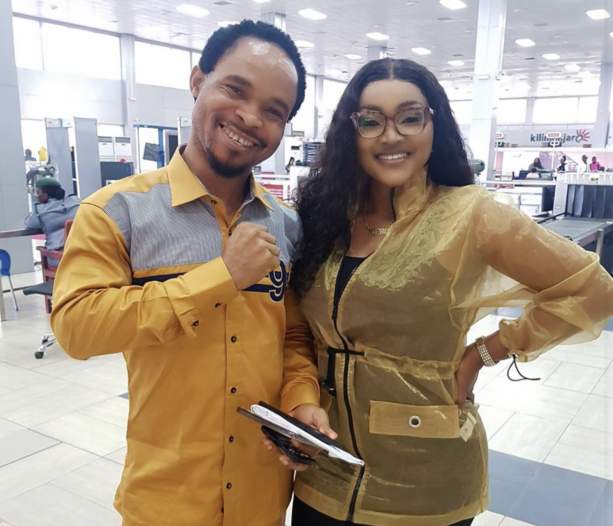 Pastor Odumeje and Mercy Aigbe