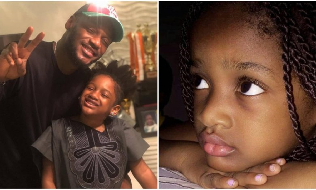 2face and daughter, Olivia