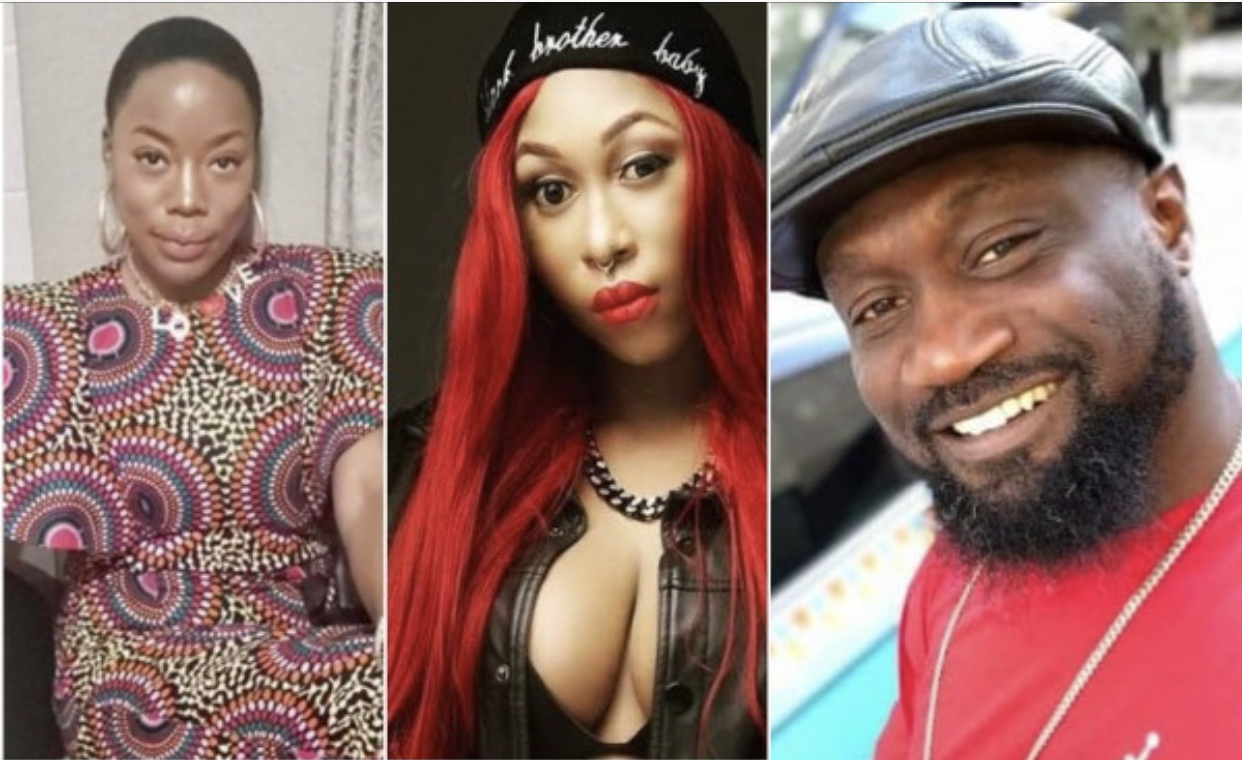 Joy Tongo, Cynthia Morgan and Jude Okoye