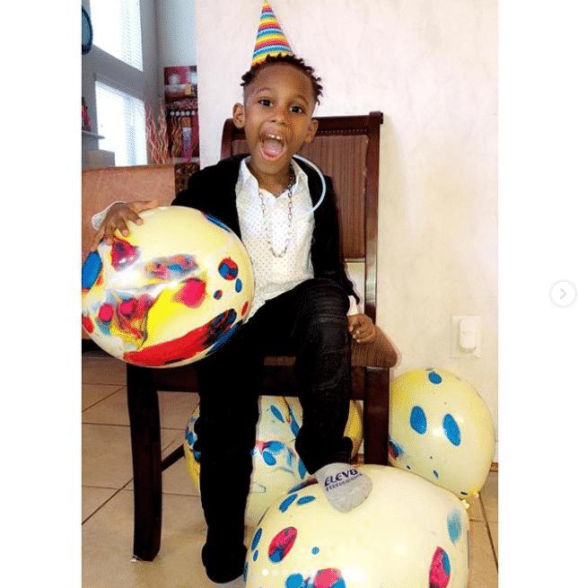 Matthew Rodriguez, the son of movie star, Uche Jombo