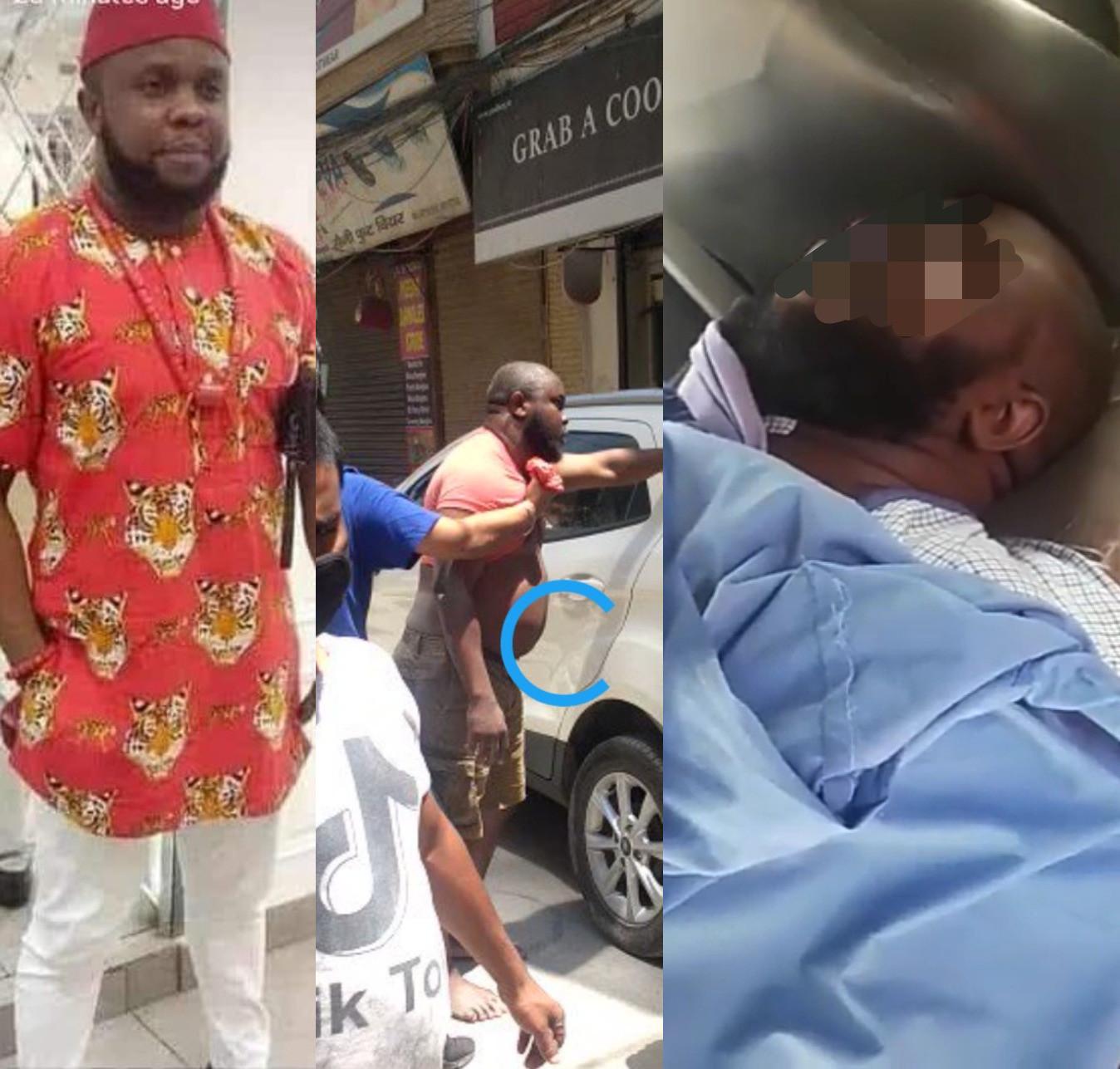 Nigerian Man Beaten To Death