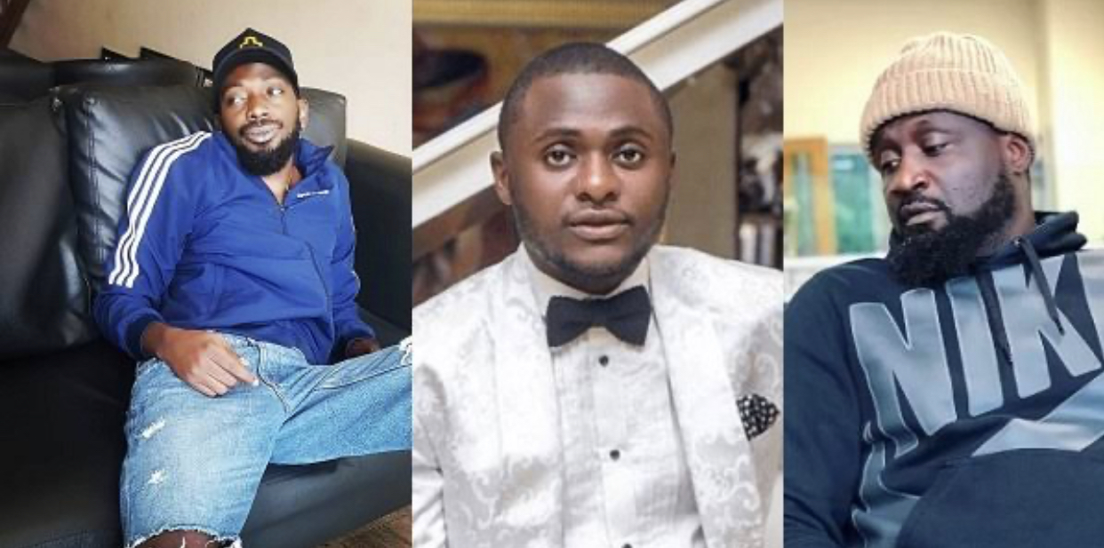 May D, Ubi Franklin and Jude Okoye