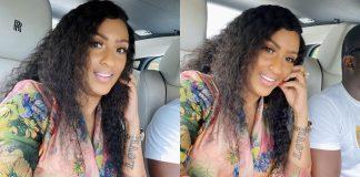 Ghanaian actress, Juliet Ibrahim and her new man