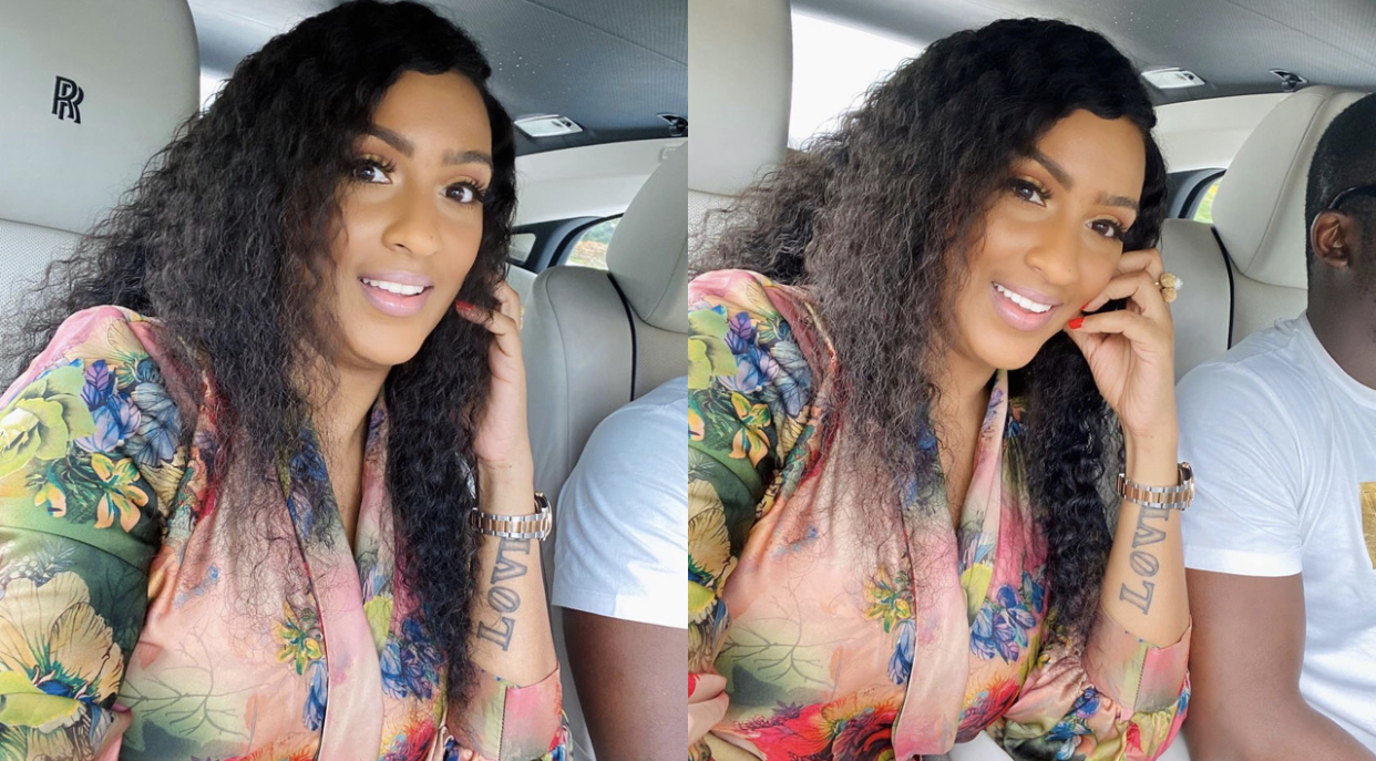 Ghanaian actress, Juliet Ibrahim and her new man