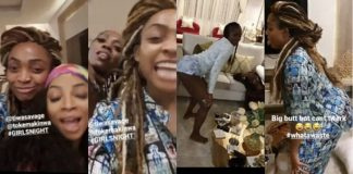 Sharon Ademefun, Tiwa Savage, Toke Makinwa
