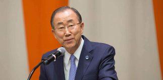 Former UN chief, Ban Ki-moon
