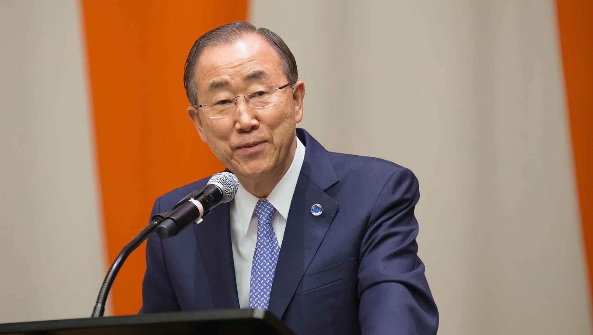 Former UN chief, Ban Ki-moon