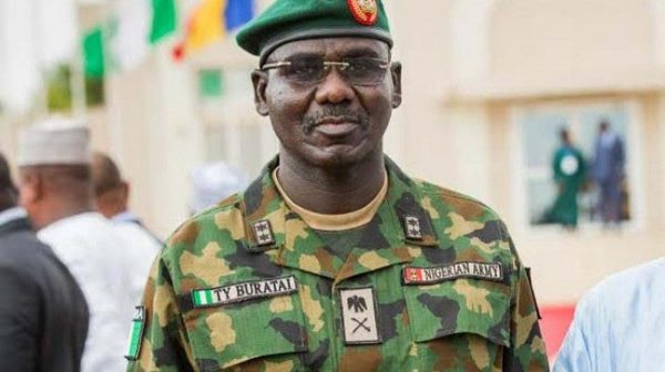 Buratai Appointed Nigeria's Ambassador To Benin Republic