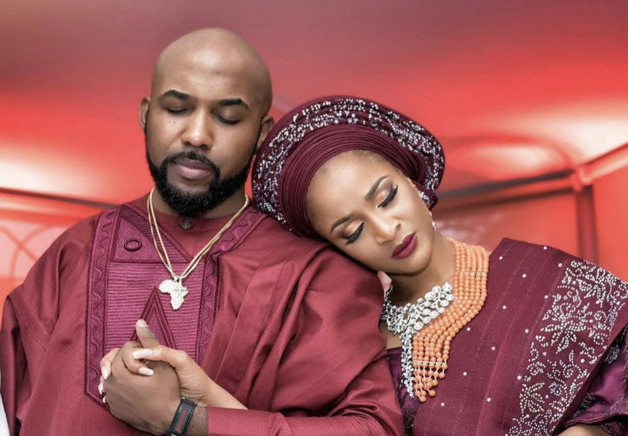 'I'm Proud You Honey', Adesua Etomi Tells Banky W