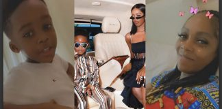 Tiwa Savage and her son, Jamil