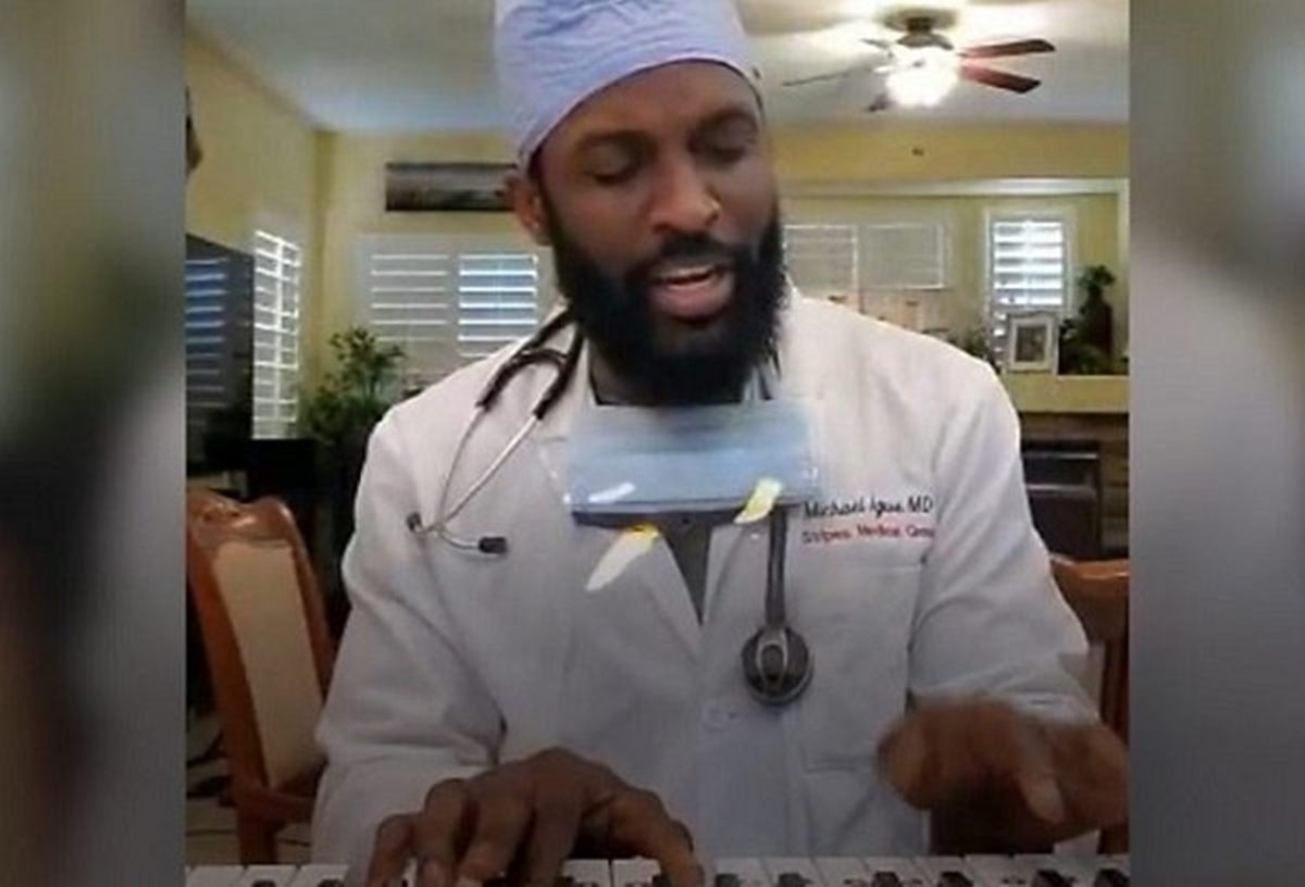 US-based Nigerian doctor,Michael Igwe,