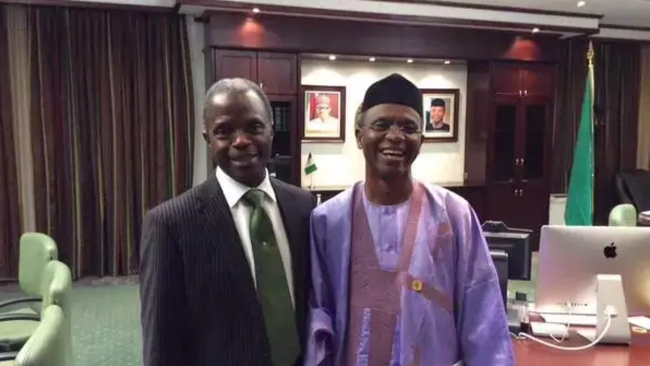 el-rufai and Osinbajo