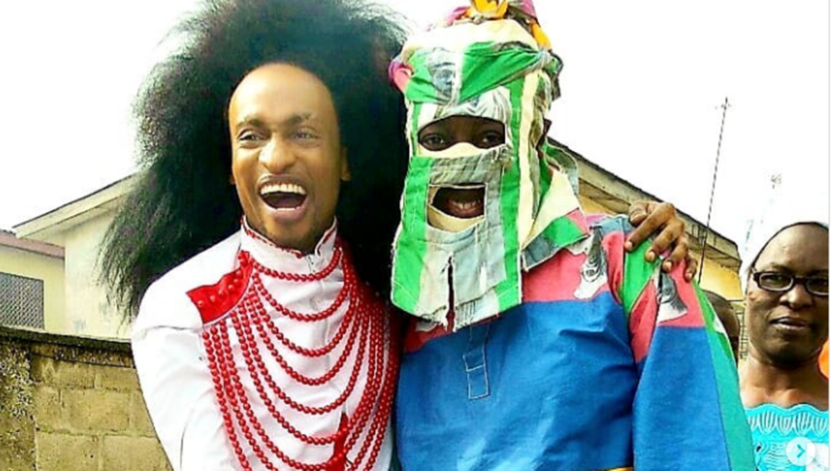Lagbaja and Derenle