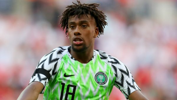 BREAKING: CAF Clears Iwobi To Play Against Lesotho