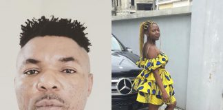 Oritsefemi and his daughter