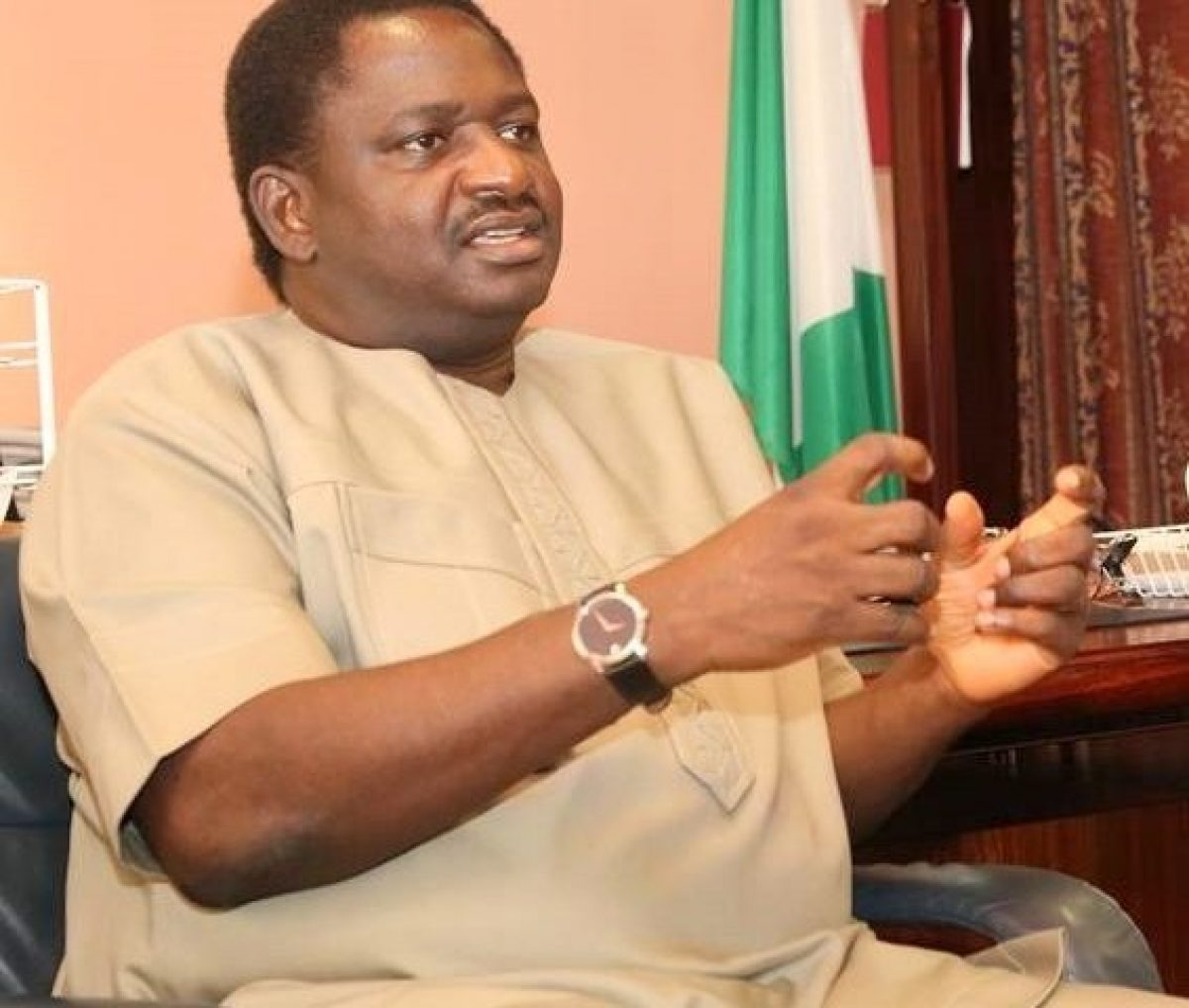2023: Umahi Can Run For President - Femi Adesina