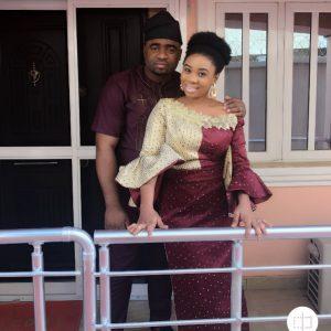 Wunmi Toriola and husband