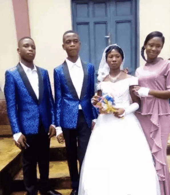 15-year-old boy weds 20-year-old