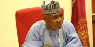 Insecurity: Saraki Rolls Out Recommendations To Buhari After Kidnap Of 12 Police Officers
