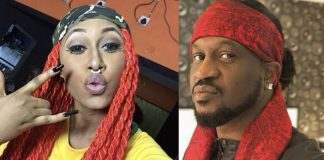 Cynthia Morgan, Paul Okoye