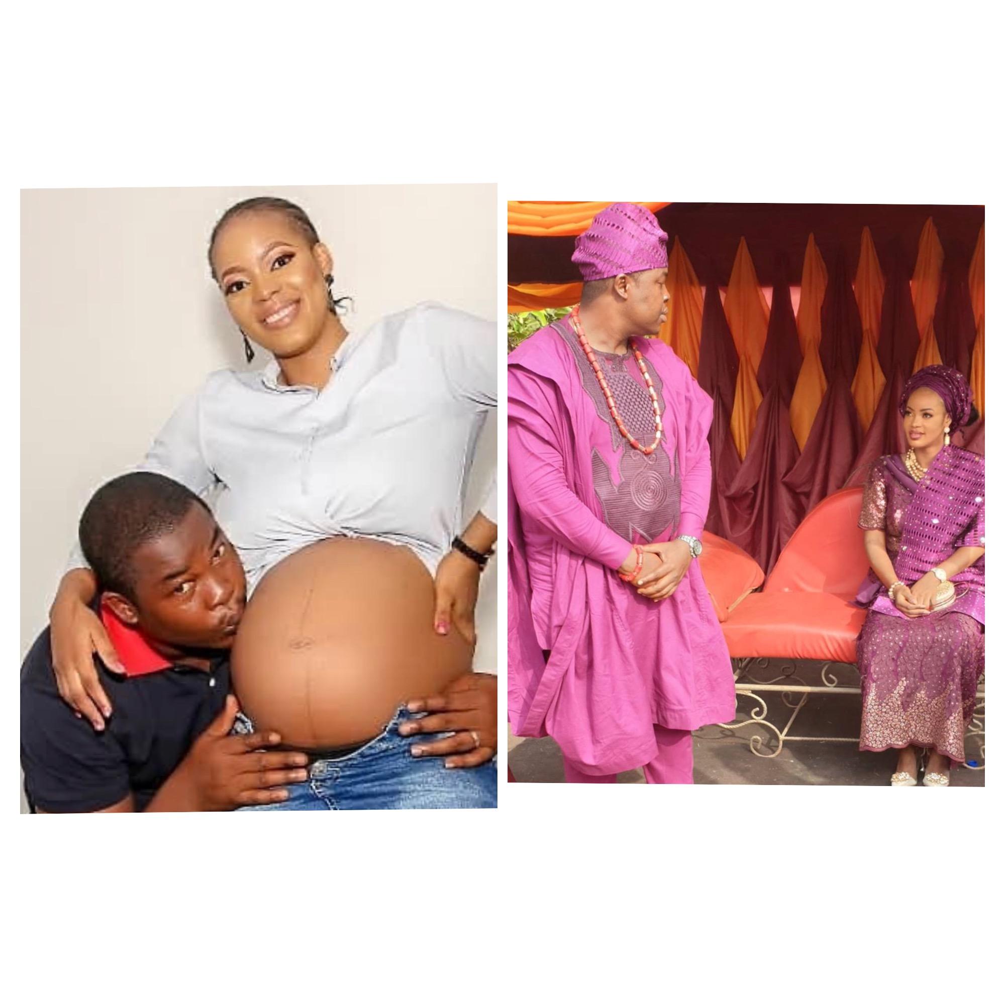 Yoruba actor, Babatee and his wife, Feranmi