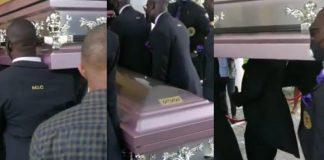 The body of late Ibidunni Ighodalo