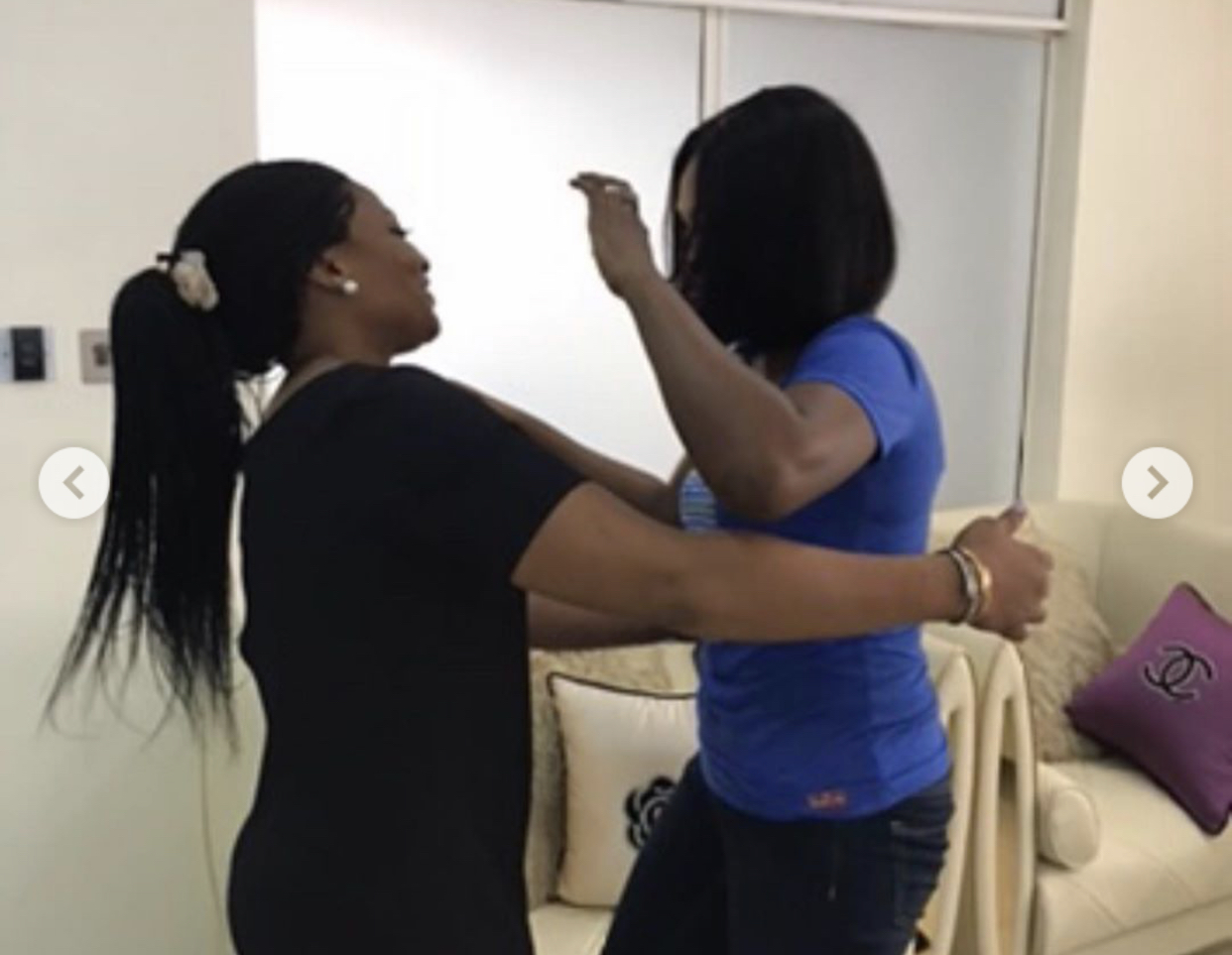 Ibidunni Ighodalo and Omoni Oboli