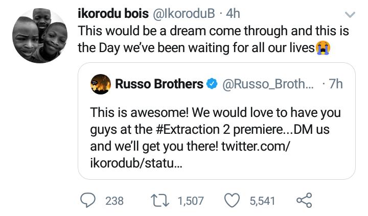 The boys' post