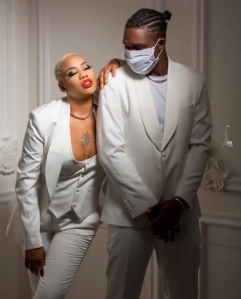 Toyin Lawani and her new man
