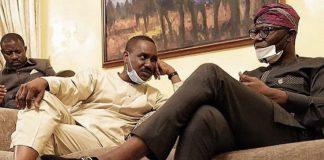 Babajide Sanwo-Olu and Pastor Ighodalo
